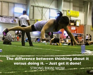 The Difference Between thinking about it versus doing it - Just get it done!